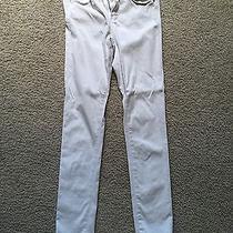 Ag Jeans the Prima 24 White Skinny Jean Photo