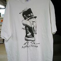 Agatha Christie T-Shirt Size Xl Photo