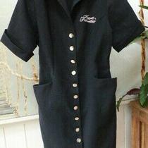 Agent Provocateur Vivienne Westwood Uniform Dress S Shop Girls Uk 10 Black Gold Photo