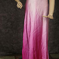 Aidan Mattox Ombre  X Back Prom Dress Photo