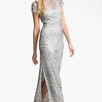 Aidan Mattox Sequin Mesh Gown Photo