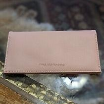 Aimee Kestenberg Bi-Fold Long Wallet Blush Pink With Gold Hardware 7.5