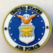 Air Force Shoe Charm Fits Crocs Jibbitz United States Air Force Shoe Charm  Photo