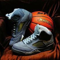 Air Jordan 5 v / Wolf Grey / 10.5 / Nike Air Jordan Photo