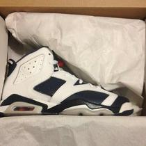 Air Jordan 6 Retro Olympic Gs Sz 5y Bred Grape Aqua 1 2 3 4 5 6 7 8 9 10 11 12 Photo