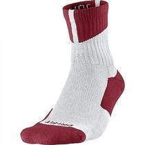 Air Jordan Dri-Fit High Quarter Men's Basketball Socks Gym Red/white 573788-110 Photo
