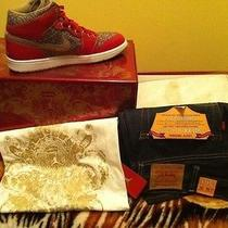 Air Jordan Retro 1 Levi's Pack Photo
