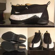 Air Jordan Retro 15 Xv Laser Bred Xi Sz 10 Vi Aqua Viii Iv Xiii Grape v Yeezy Photo