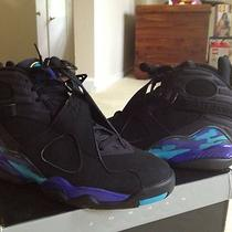 Air Jordan Retro 8 Aqua Photo