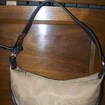 Ak Anne Klein Signature Logo Sm. Shoulder Hobo Bag 12