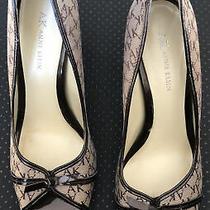 Ak Anne Klein Sz 8.5 M   Pump Heels Shoes Open Toe.  3 Inch Heel Photo