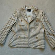 Akris 70% Cashmere 30% Silk Blend Jacket/blazer Us Size 10 Photo
