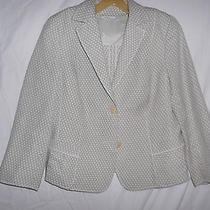 Akris Baumwolle Cotton Jacket  Us12 Photo