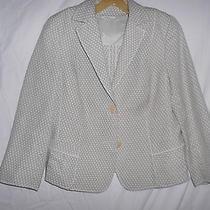 Akris Baumwolle Cotton Jacket  Us12 Photo