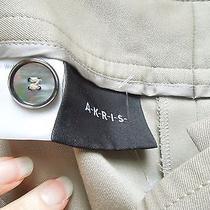 Akris Beige Pants Size 12 Photo