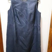 Akris Blue Sleevless Dress. Sz 16  New With Tags  Photo