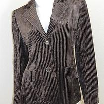 Akris Collection Velvet Coat Size 8 Photo