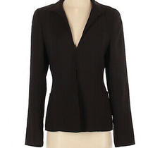 Akris Dark Brown Womens Blazer Jacket Size 6 Photo