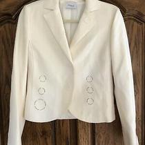 Akris.. Ivory..us 6.. Blazer/jacket Mint Photo