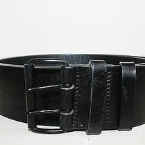 Akris Punto Black Leather Belt Photo
