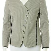 Akris Punto Blue Jacket Size M Photo