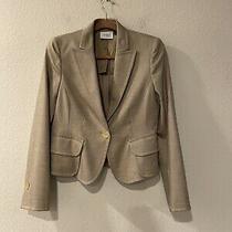Akris Punto Brown One Button Blazer Women's Size 8  Photo