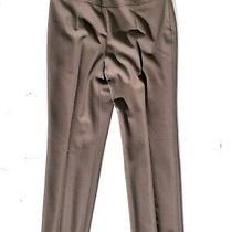 Akris Punto Brown Wool Trousers Dress Pants 8 Photo
