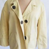 Akris Punto Jacket Bomber Dead Stock Nos Summer Spring Mao Minimalist Yellow 8 Photo