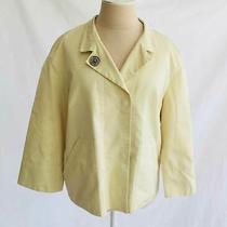 Akris Punto Jacket Bomber Dead Stock Nos Summer Spring Mao Minimalist Yellow 8 Photo