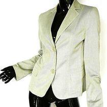 Akris Punto Minimalist Luxury Jacket Gray Sz 8 Made in Italy  Photo