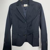 Akris Punto Navy Blue Career Business Blazer Jacket  Women Size Us 12 Photo