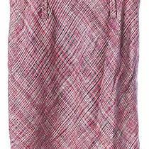 Akris Punto Pink Na Pencil Skirt Size L Photo