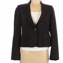Akris Punto Women Black Wool Blazer 6 Photo