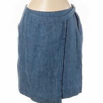 Akris Punto Women Blue Casual Skirt 6 Photo