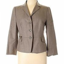 Akris Punto Women Brown Wool Blazer 10 Photo