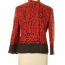 Akris Punto Women Red Wool Blazer 10 Photo