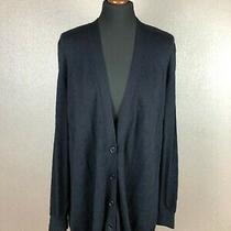 Akris Punto Women's Wool Cardigan Sweater Size Us 14 / F 46 / D 44 Photo