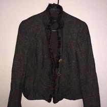 Akris Punto Womens Size 10 100% Wool Blend Blazer Jacket Three Button Photo