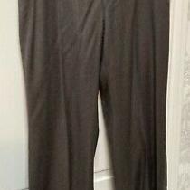 Akris Punto Wool Brown Pants Size 10 Very Good Condition Photo
