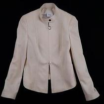 Akris Swiss Wool Jacket Luxury Pure Perfection Us8 D38 Photo