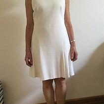 Akris White Dress Us Size 8 Photo