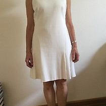 Akris White Dress Us Size 8 Photo