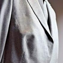 Akris Women's 3 Piece Pantsuit Size 14 Top Wool Career Modern Cut Sz 10 Pants Photo