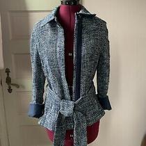 Akris Womens Zip Jacket Blazer Size 8 Us Photo