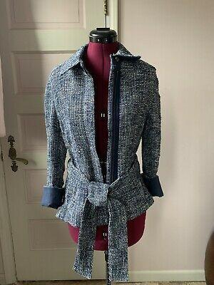 Akris Women's Zip Jacket Blazer Size 8 US Photo