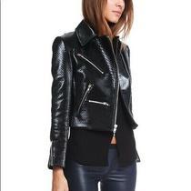 Alc. Women's Black Cotton Theo Jacket. Sz. 4 Photo