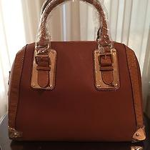 Aldo Adelaide Cognac Satchel Handbag-New With Tags Photo