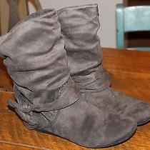 Aldo Ankle Boots Gray Size10 Photo