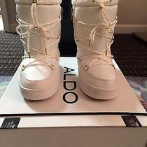 Aldo Araneo Boots White Snow Boots Photo