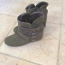 Aldo Army Green Boots Photo